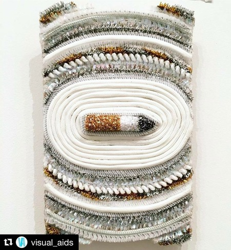 """Christybomb's """"Glitter Fag"""" Sold at Metro Pictures Benefitting VisualAIDS"""
