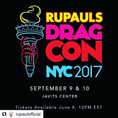 Christybomb invited to participate in RuPaul's Drag Con in NYC