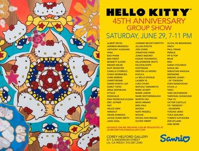 Sanrio X Christybomb for Hello Kitty's 45th Anniversary!
