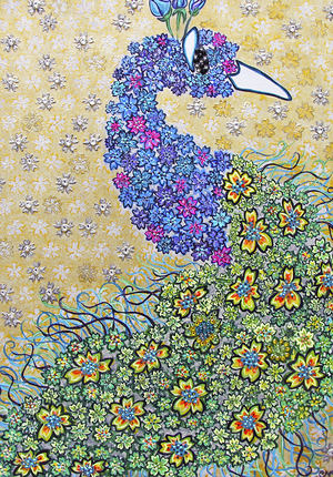 """""""Royal Blossom"""" Sparkles at the Holiday Show @ LaMaMa La Galleria in NYC"""