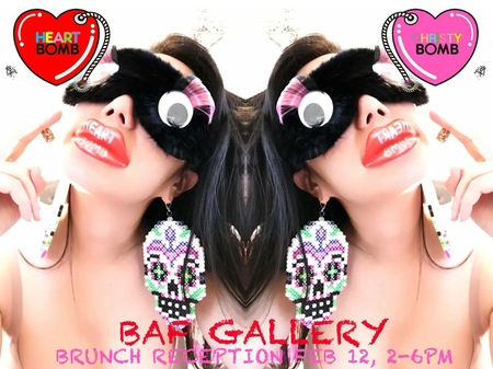 "Christybomb's Solo Exhibition ""HeartBomb"" at BAF Gallery"